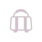 Illustrated icon of a bag