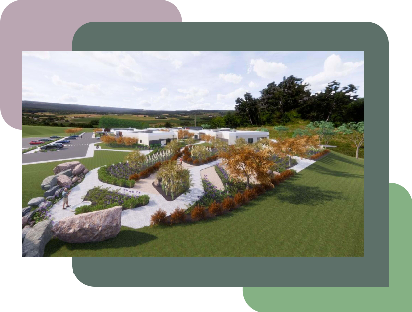 Concept of the new Anam Cara House Geelong